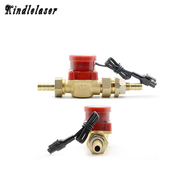 Water Flow Switch Laser Water Sensor Protect Switch 8mm 10mm 12mm for CO2 Laser Engraving Cutting Machine