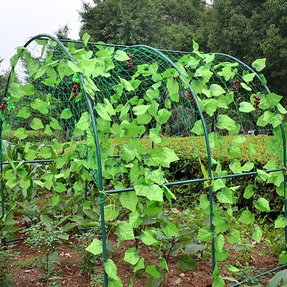 4 Sizes Durable Nylon Vine Climbing Plants Net Support Garden Mesh Fence Garden Netting Plant Trellis