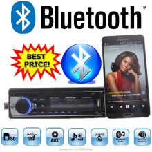 Car Radio Stereo Player Bluetooth AUX-IN MP3