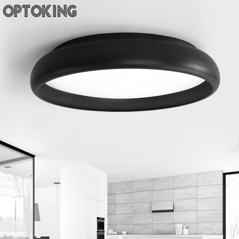 DIY dome led ceiling light Modern  simple living room ceiling  lamp creative round r bedroom dining room home indoor lighting