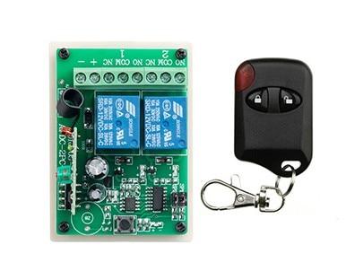NUEVA DC12V 2CH RF Sistema de Interruptor de Control Remoto teleswitch 1 X trans