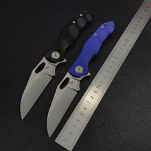CH New Arrival Nighthawk 60HRC D2 Blade G10 Handle Ball bearing Folding Knife Camping Hunting Collectioon Gift EDC Pocket knives