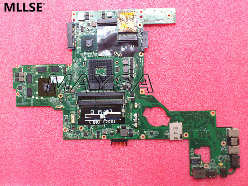 CN-0714WC 714WC Main Board Fit for DELL L502X laptop motherboard DAGM6CMB8D0 HM67 with discrete graphics nokotion laptop motherboard for dell vostro 3500 cn 0w79x4 0w79x4 w79x4 main board hm57 ddr3 geforce gt310m discrete graphics