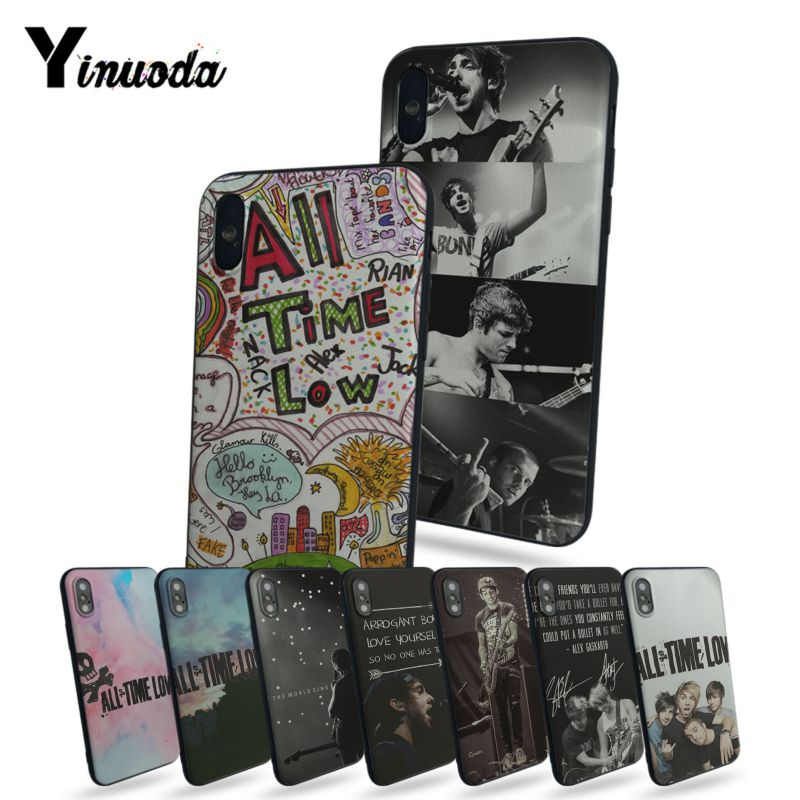 Yinuoda ALL TIME LOW tpu phone case For iphone X 8 8plus And 7 7plus 6 6s plus 5 5s SE phone case cover image
