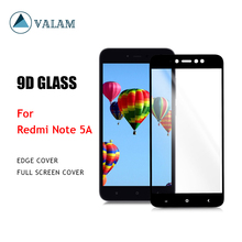 VALAM Tempered Glass Screen Protector For Redmi 5A 9H Hardness For Redmi Note 5A  Full Cover  For Redmi Note 5A цена