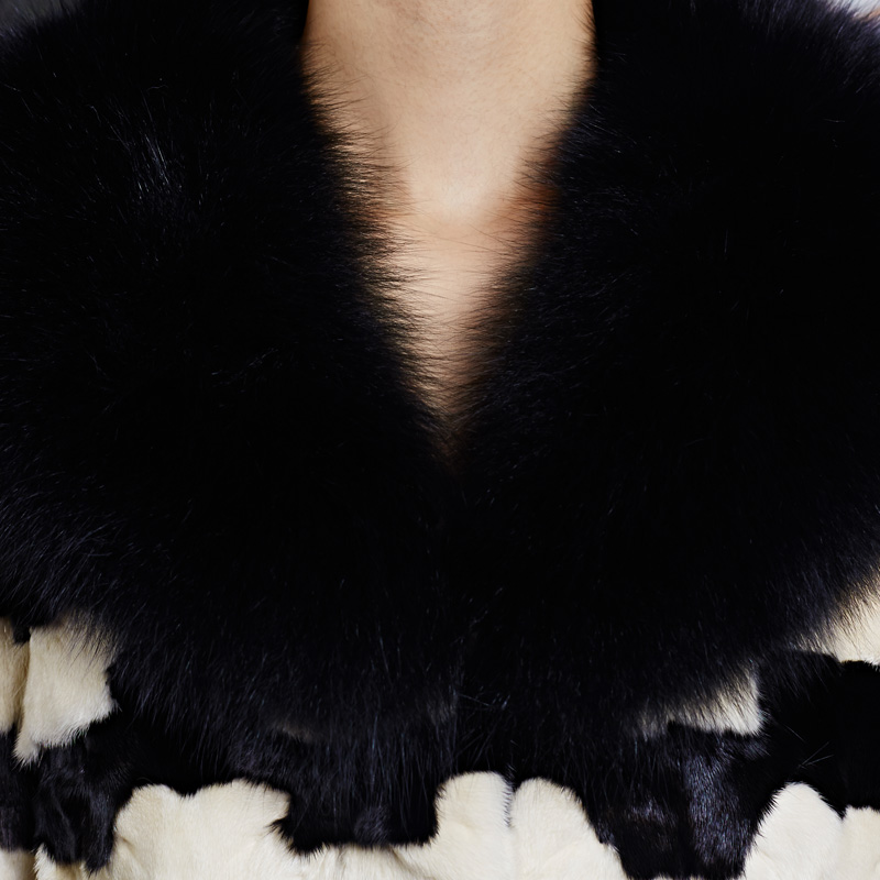 Femmes Manteaux La Fourrure Femme Veste Manteau Vraie Mouton De Des Vestes D'hiver Laine Cqwt75f5