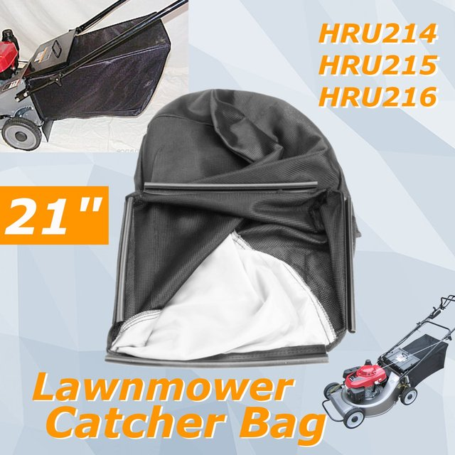 Lawnmower Leaf Grass Catcher Bag For 21inch Hondas Hru214 Hru215 Hru216 Lawn Mower