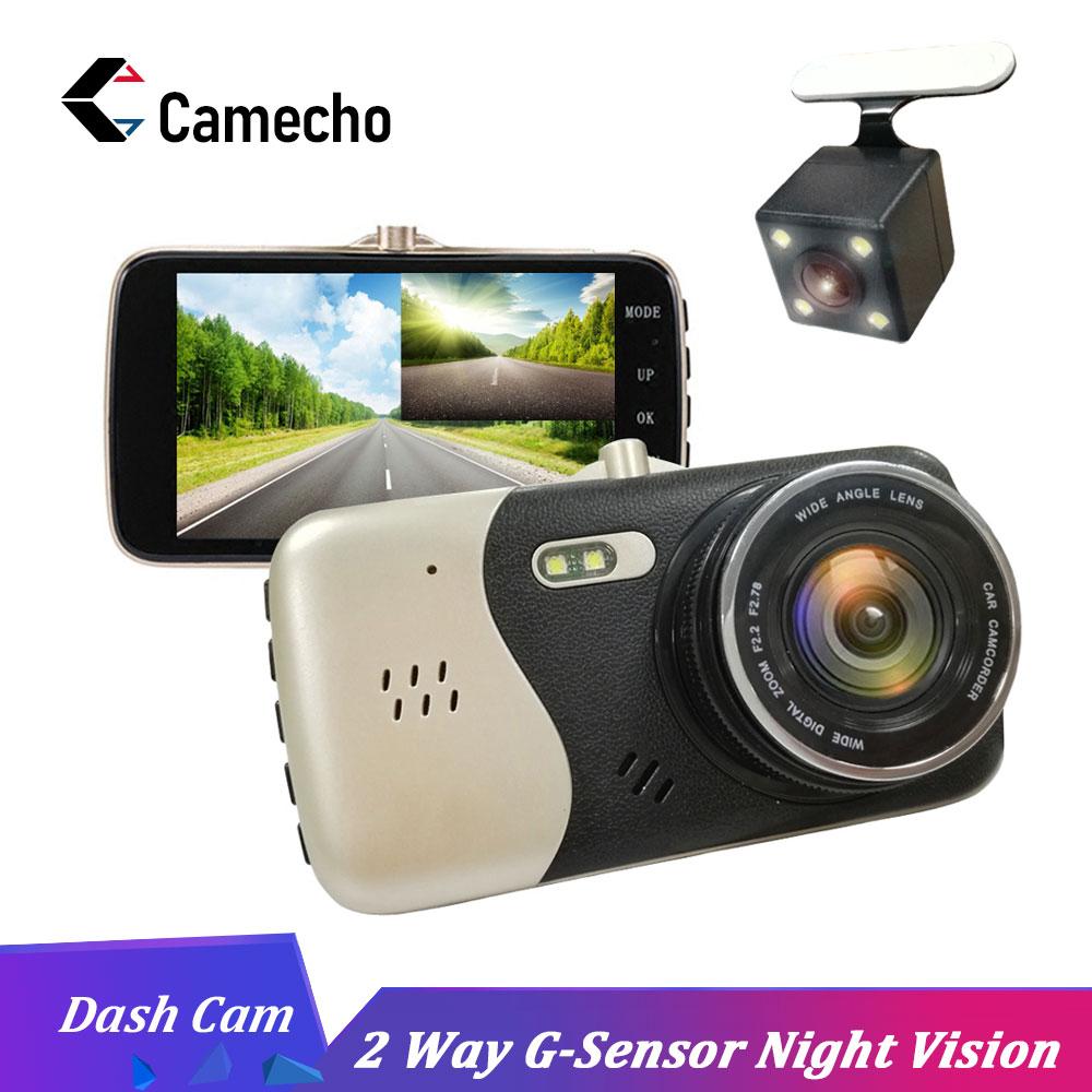 Camecho Original 4 Inch IPS Screen Car DVR Novatek NTK96658 Car Camera Dash Camera FHD 1080P