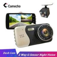 Camecho Original 4 Inch IPS Screen Car DVR Novatek NTK96658 Car Camera Dash Camera FHD 1080P Video Recorder 170 Degree Dash Cam