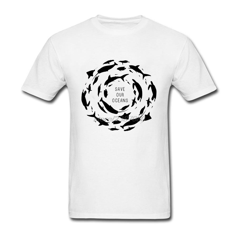 Kurzarm T-shirt Außer unserem ozeane sharks wale turtles sealife T-shirt Plus Größe Hombre O Neck sharks turtles T-shirts