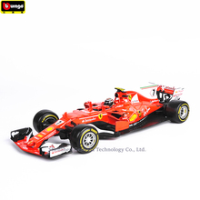 Bburago 1:18 Ferrari F1 6HNO7 manufacturer authorized simulation alloy car model crafts decoration collection toy tools стоимость