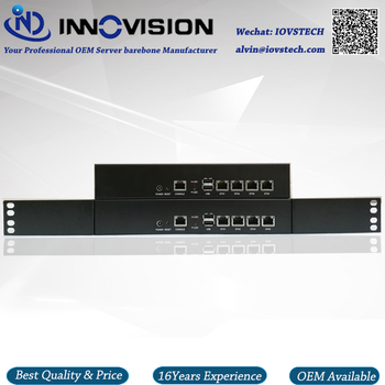 Mini 1U / Desktop 4GBe Lans network server barebone