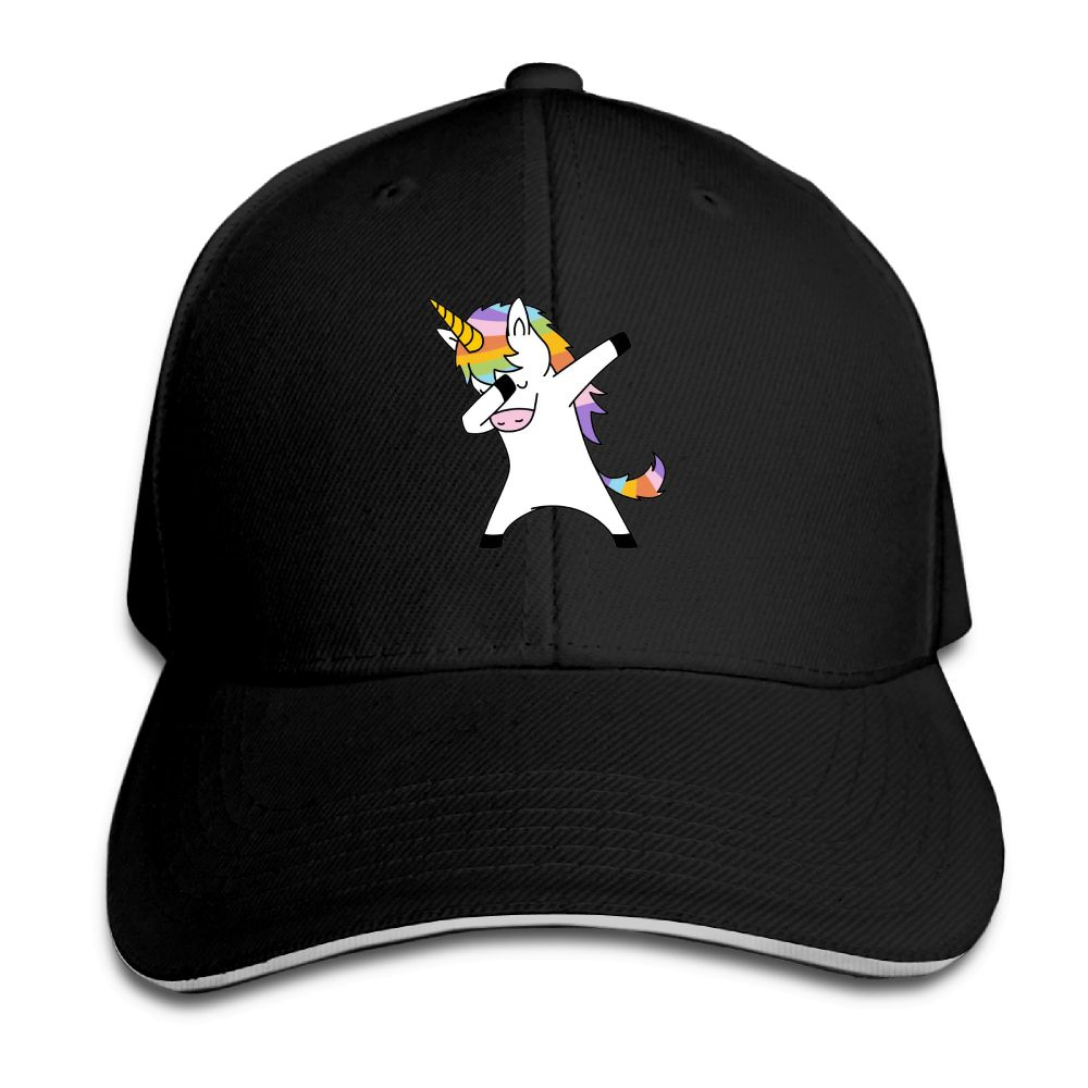 New Arrive Baseball Cap Dabbing Unicorn Print Women Men Baseball Cap Snapback Caps Female Male Casual Hat Adjustable