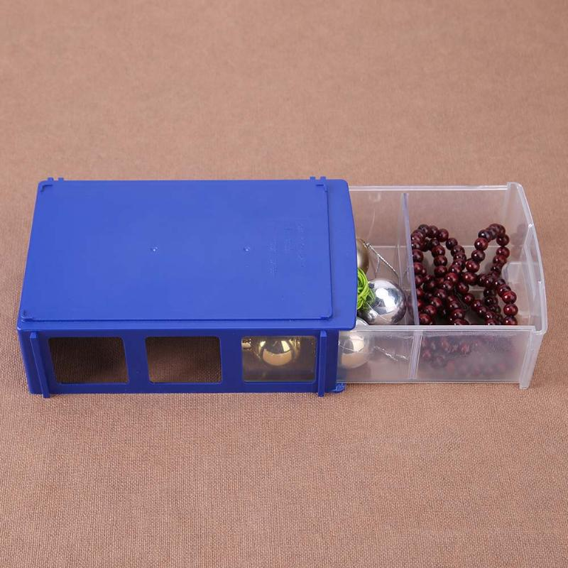 Plastic Storage Box Small Parts Drawer Jewelry Holder Material Tool Box Container Home Organizer Drawer
