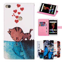 """GUCOON Cartoon Wallet Case for Alcatel POP 4 6"""" 7070X Fashion PU Leather Cover Lovely Cool Cases Cellphone Bag"""