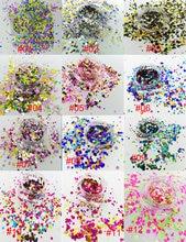 Usd9/50 граммов блестящая круглая форма в горошек блестка для