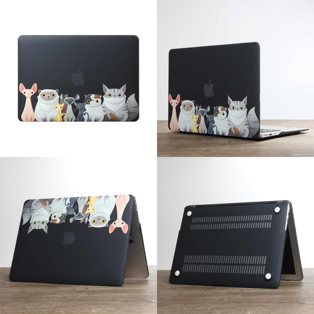 Étui pour ordinateur portable 2019 de haute qualité pour Apple macbook Air Pro Retina 11 12 13 15 pour Mac 13.3 pouces avec barre tactile + étui pour clavier