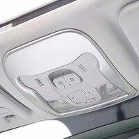 Automobiel auto styling accessoires chroom aangepast lezen lampenkap trim frame interieur automotive VOOR JEEP Renegade