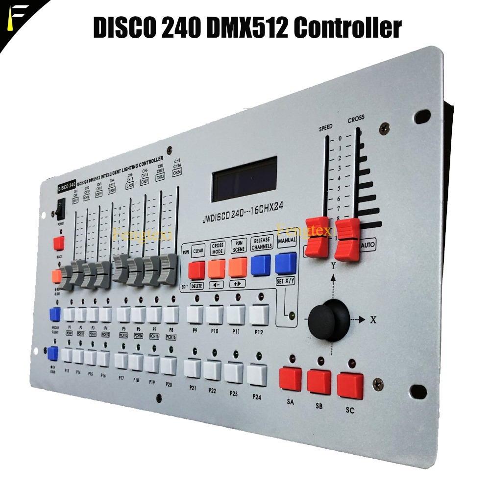 Disco 240CH DMX 512 Controller/LED Dmx Console/DMX Cable For Stage LED Light dmx контроллер dmx involight lc20