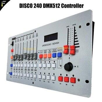 Disco 240CH DMX 512 Controller/LED Dmx Console/DMX Cable For Stage LED Light dmx фото