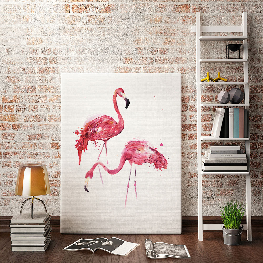 Hot sale living room decoration multi size modern wall art birds canvas prints home hanging animal mural decor for kids bedroom