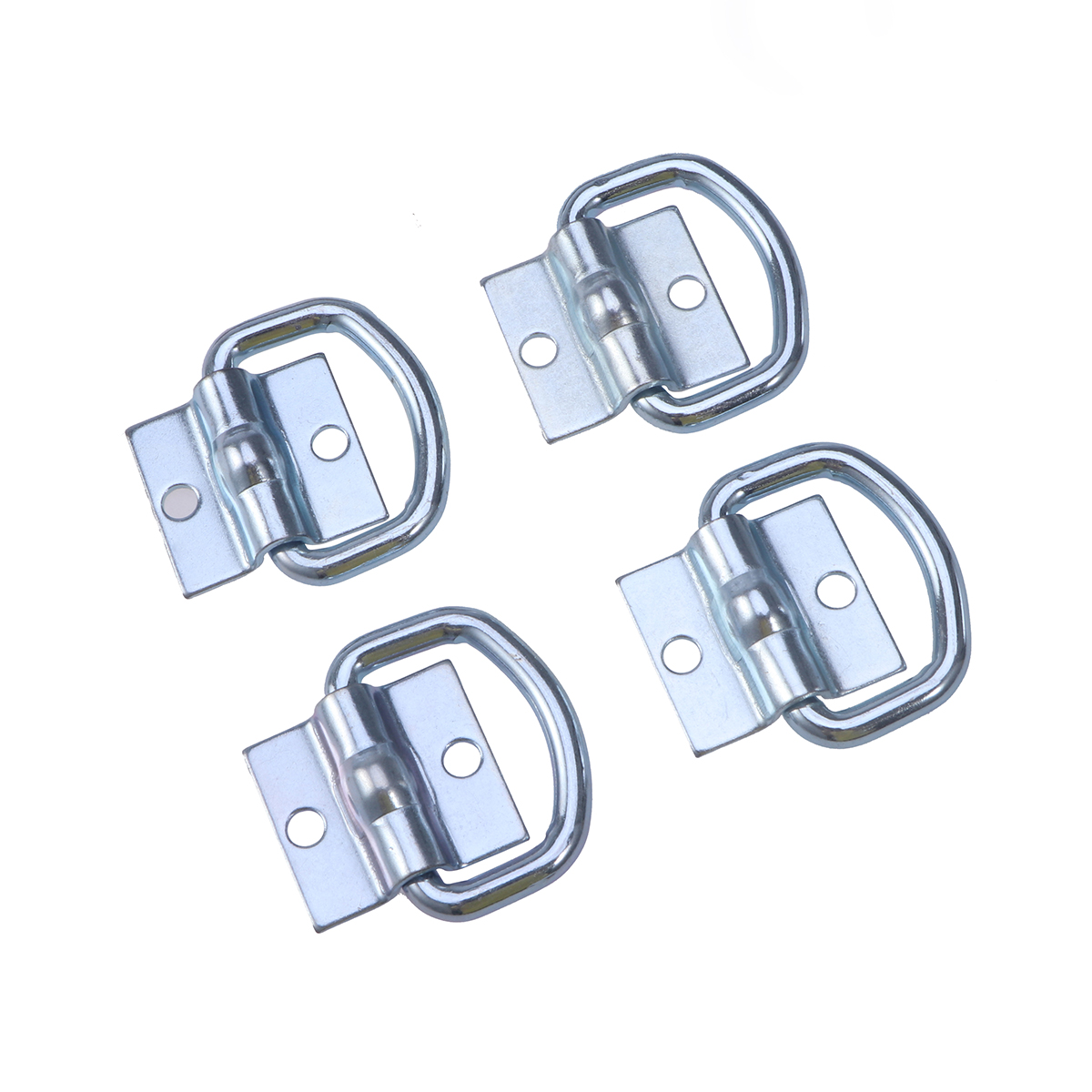 Durable 4pcs Tie Down D Ring Load Anchor Trailer Anchor Forged Lashing Ring With 9600 Pound Capacity Car Trailer Accessories