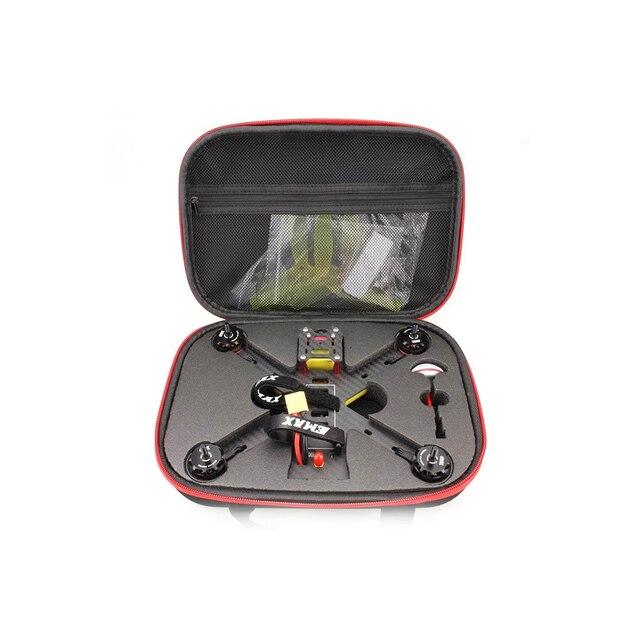 Emax RC di Stoccaggio Borsa Borsa Borsa Per Il Trasporto Della Cassa Della Scatola Con Spugna Per Laereo di RC 200 FPV Drone