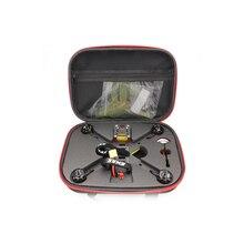 Emax RC sac à main, sac de rangement, boîte de transport avec éponge pour avion RC 200 Drone FPV