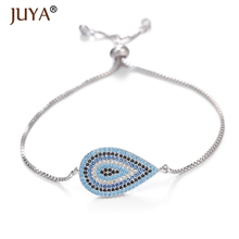 Greek Evil Eye Bracelet Adjustable Chain Evil Eye Charm Amulet Jewelry Protection Bracelet Good Luck Gift Turkish Nazar Bracelet цена 2017