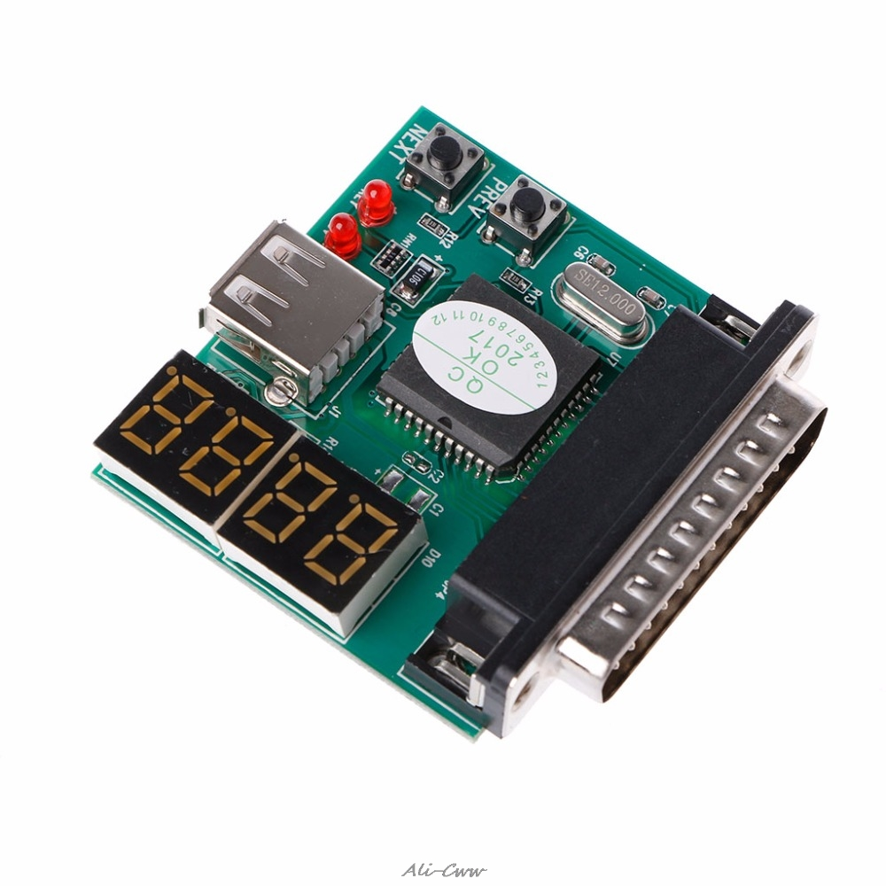 1 Set PC Diagnostic 4 Digit Code PCI Card PC Motherboard Analyzer Diagnostic Post Tester For Computer Laptop High Quality
