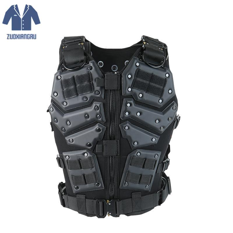Unloading Airsoft Men Tactical Molle Vest Protection Plates Colete Soldier Combat Vest Army Military Camouflage Carrier Vest