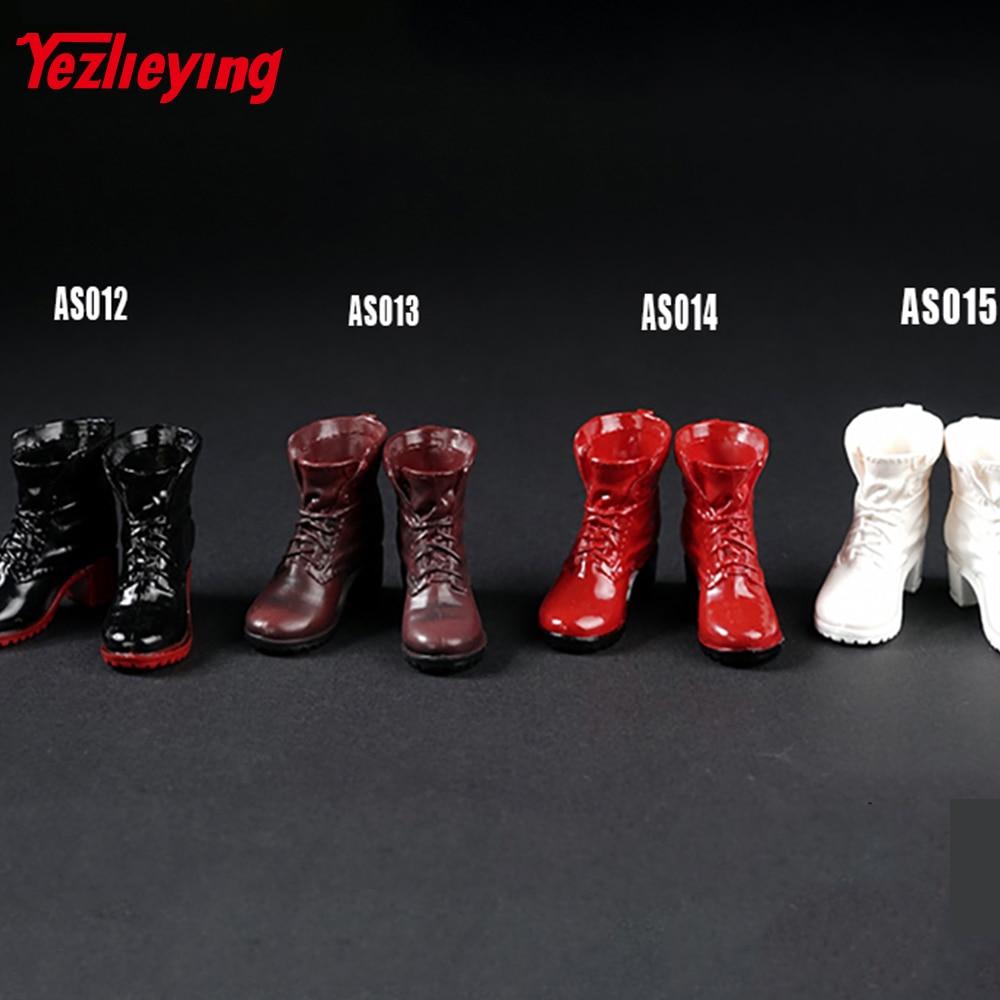 Botas de Combate ASTOYS Shoes1/6 Escala Sem Pés Modelo The Avengers Alliance Bruxa F12-inch Soldado Figura de Ação Acessórios Militares
