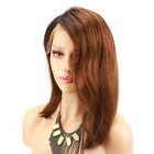 Eseewigs Ombre Lace Front Wigs Human Hair Short Bob Blonde Brazilian Remy Human Hair Wigs for Black Women Pre Cut Wig Baby Hair