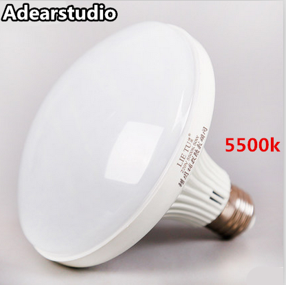 E27 screw super bright LED energy-saving 50W 5500k white photography spherical soft illumination Pearl lamp bulb CD50