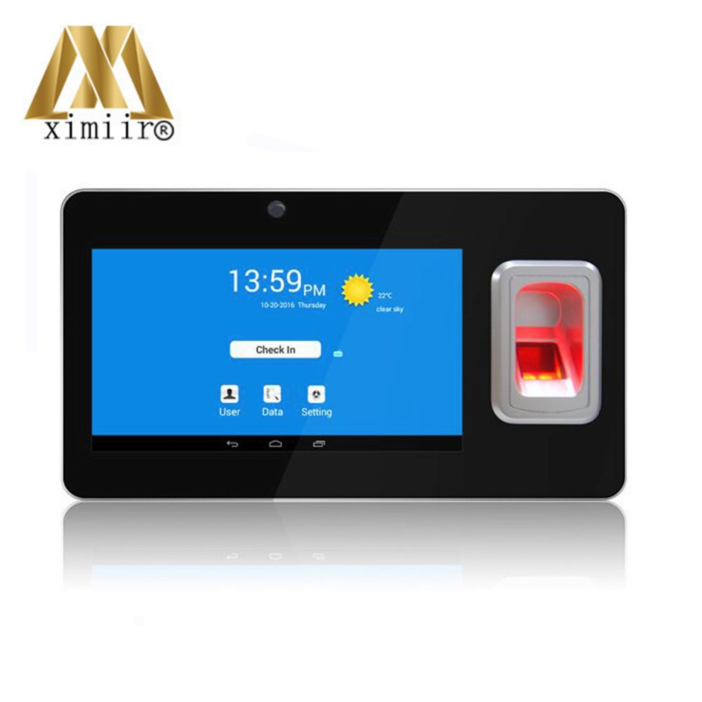 UT268 Android Fingerprint Time Attendance With GPS And SMS Biometric Fingerprint Time Recorder Terminal