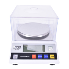 1pcs Precision Laboratory analytical balance 2000g x 0.01g Jewelry diamond gold weighing bench kitchen scale