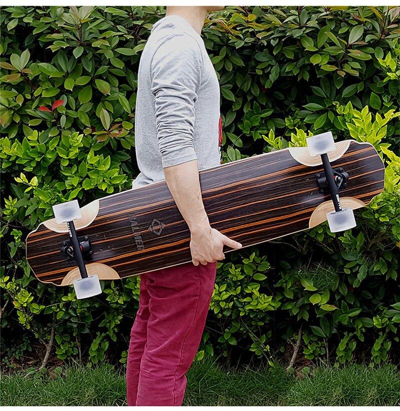 Professional Complete Skate Longboard Adult Road Street Dancing Lonboard Dancing Skateboard