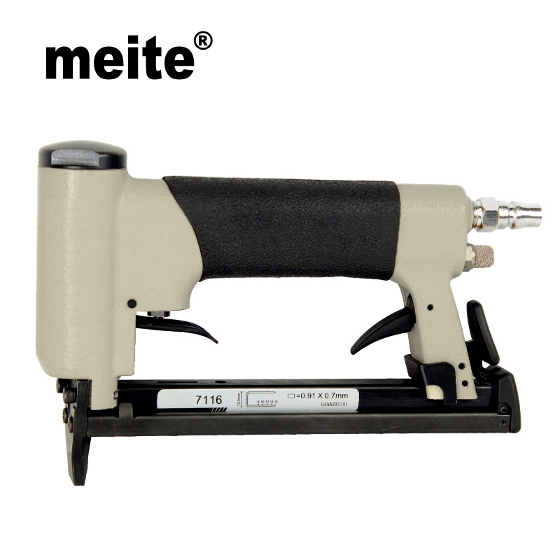 2cd249addcd Meite 7116C 22GA crown 9.0mm fine wire staple air gun pneumatic stapler  tools for furniture,car seat,bedding Sep.3rd Update