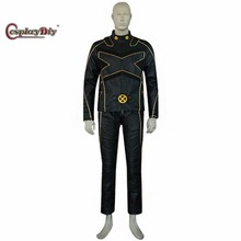 Cosplaydiy X-Men Superhero Cosplay Costume For Adult Men's Halloween Carnnival Outfit Custom Made D2603