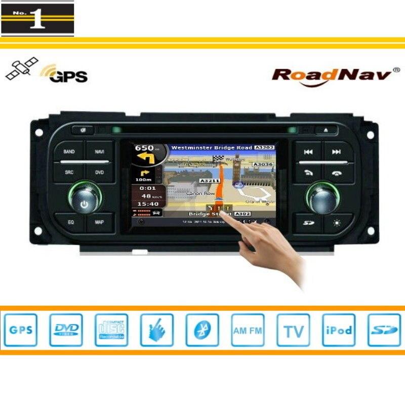 Navegación del GPS del coche Para Dodge Caravan 2001 ~ 2007 TV Radio CD DVD iPod
