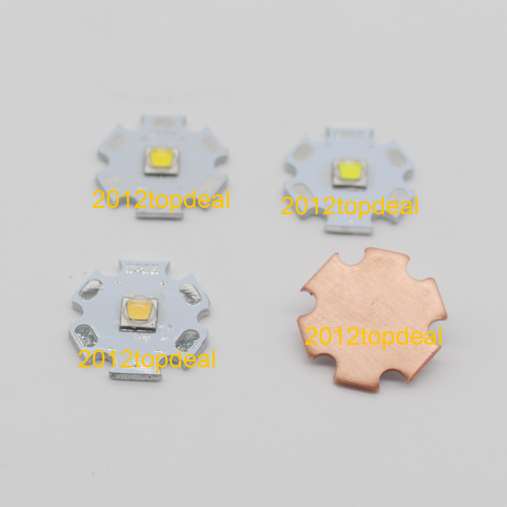 Home original cree xm l2 xml2 led emitter lamp light cold white - 10pcs Cree Xml2 Led Xm L2 T6 U2 10w White Neutral White Warm White High