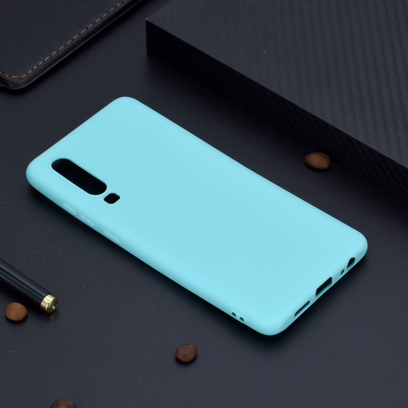 Fashion Macaron Candy Colors Soft TPU Cases Smartphone Silicone Cover Shell Bags Coque Fundas Skin for HUAWEI P30 P30 Pro Nova 4 in Fitted Cases from Cellphones Telecommunications