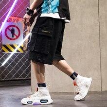 men shorts sweat hip hop streetwear summer military cotton mens bermuda M-XXXL 2019 casual designer
