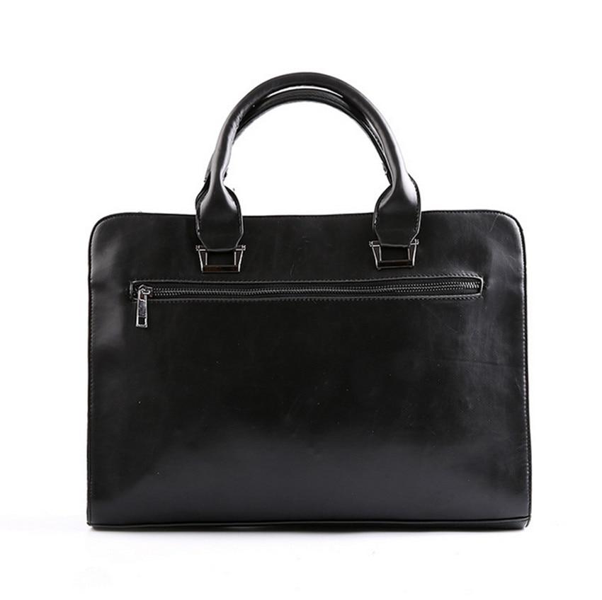 Men Leather Bag Cartera Men Bags Pu Briefcase