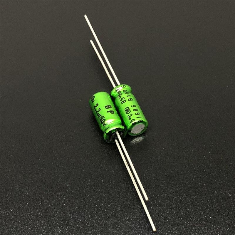 5Pcs/20Pcs 2.2uF 50V NICHICON Muse BP 5x11mm 50V2.2uF Top Grade Bipolar Audio Capacitor
