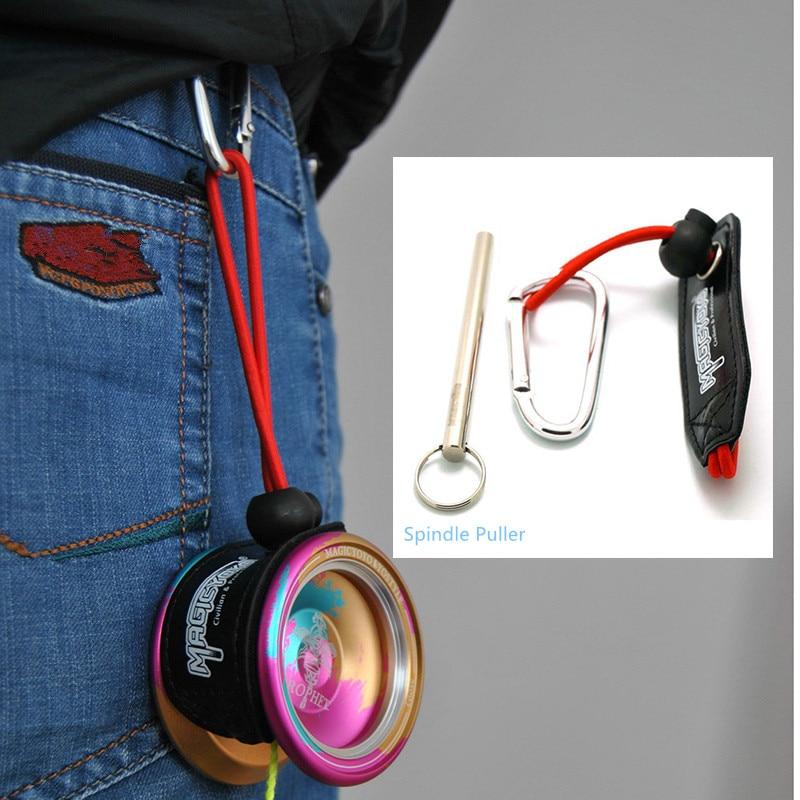 Magic Yoyo Toy Professional YO-YO Accessories Waist-hanging Shaft Puller Set New Arrival цены онлайн