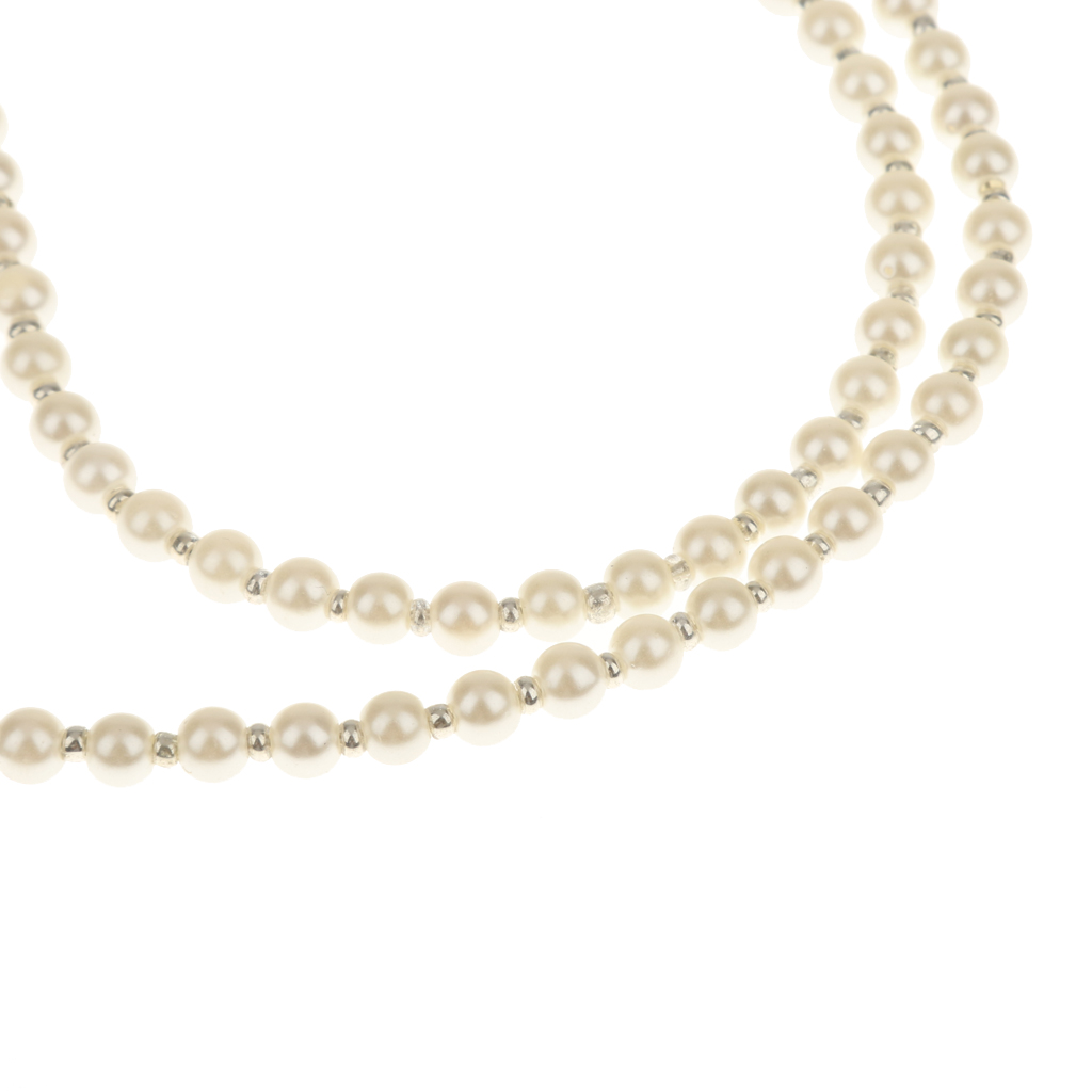 Imitation Pearl Bead Glasses Accessories Eyeglass Sunglass Cord Neck Strap String Chain Link Holder