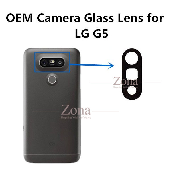 online store c06ce 18f1a US $5.22 5% OFF|Original Rear Back Camera Glass Lens and Lens Cover for LG  G5 with Adhesive Sticker Replacement Parts-in Mobile Phone Camera Modules  ...
