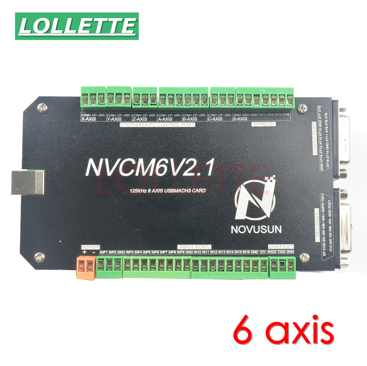 CNC MACH3 USB 6 оси 4 оси 5 Ось 125 кГц USBCNC 16I 16O Гладкий шагового движения контроллера карты коммутационная плата для гравировальный