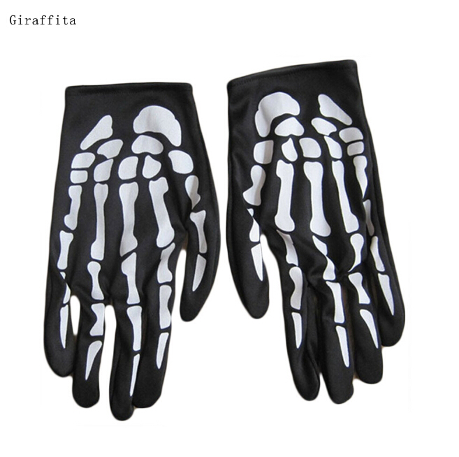 Claw Glovesplastic Rubber Christmas Ghost  Gloves Men Women  Halloween Skull Skeleton Gloves